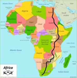 Van Kaapstad naar Caïro - blog Corneel van den Brink